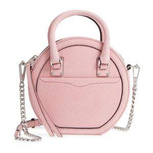 Rebecca Minkoff Pink Bree Circle Crossbody Bag